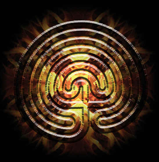labirints apgriezts